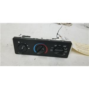 1999-2004 Ford F350/F250 heater and air conditioning controls tag as12211
