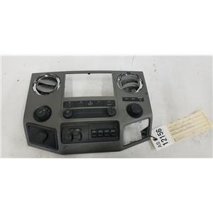 2011-2013 Ford F350 F450 F550 XLT center dash bezel tag as12156