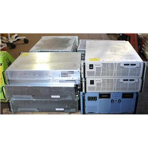 Lot of 11 TDK LAMBDA GEN 60, 80 ESS Programmable DC Power Supplies AS-IS