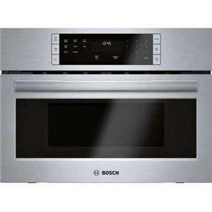 "Bosch 500 Series 27"" 1.6 LCD Controls  Built-In Microwave Oven HMB57152UC (6)"