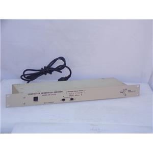 EEG DE-241CG Character Generator Decoder Used