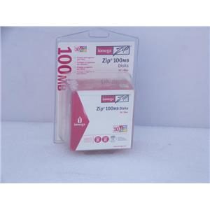 Iomega 32606 10PK ZIP 100MB CLAMSHELL PC/MAC Disks
