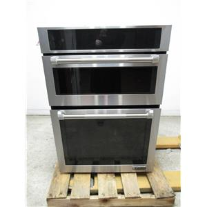 """Jenn-Air 30"""" Stainless Full Color Menu Combination Microwave Electric JMW2430DP"""
