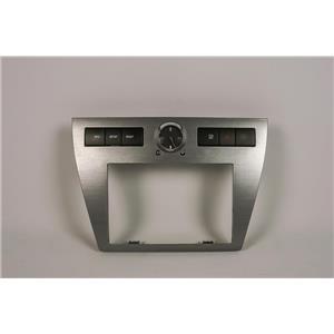06-09 Ford Fusion Milan Radio Climate Dash Trim Bezel Hazard Info Buttons Clock