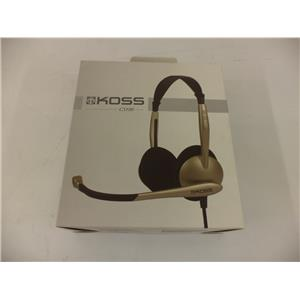 Koss CS100 Stereo PC Headset With Noise Canceling Microphone
