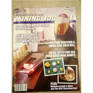 ICMJ's Prospecting & Mining Journal Magazine  2018,  GOLD!!