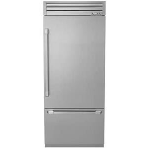 Dacor Discovery 36 Inch 19.3 cu. ft Fully Integrated Bottom-Freezer DYF36BFTSR