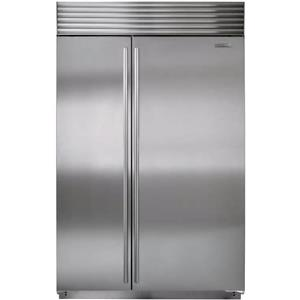 "NIB Sub-Zero 48"" 28.3 cuft Built-in Stainless Side-by-Side Refrigerator BI48SSTH"