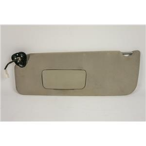 2004-2010 Toyota Sienna Driver Side Sun Visor with Covered Lighted Mirror