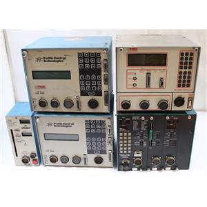Lot of Peek Traffic 3000 / Transyt Corp 1880E / TCT LMD 8811 Traffic Controllers