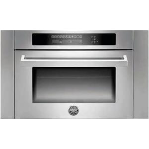 Bertazzoni 24 Inch Combination Microwave Single SS Electric Wall Oven SO24PROX
