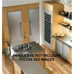 "Gagggenau 400 Series 42"" Custom Panel Refrigerator Freezer RF411701/ RC462701"