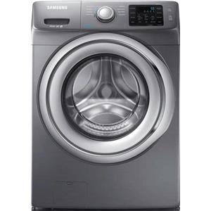 "Samsung 27"" 4.2 cu. ft. Self Clean + Platinum Front Load Washer WF42H5200AP"