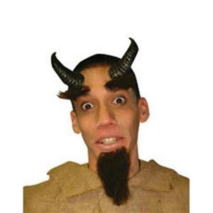 Reel Fx Satyr Demon Devil Latex Horns Costume Makeup Kit