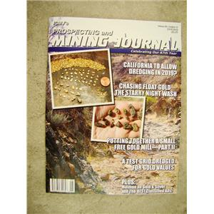 ICMJ's Prospecting & Mining Journal Magazine June 2018,  GOLD!!