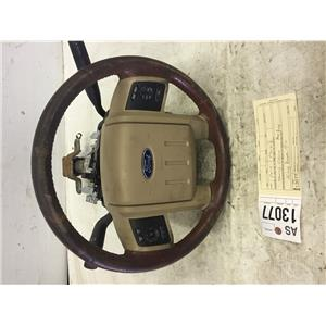 2011-2013 Ford F350 F450 F550 King Ranch steering wheel and column tag as13077