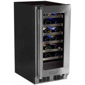 "Marvel Professional Series 15"" 24-Bottle SS Built-In Wine Storage MP15WSG3LS"