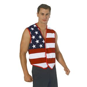Stars and Stripes American Patriotic Flag Vest