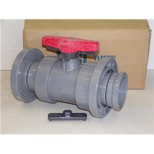 Spears 1823-030 CPVC TU 2000 Schedule 80 Industrial Flanged Ball Valve