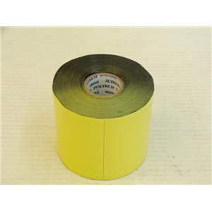 Polyken 826 Yellow 4 x 100Ft. 1 Core Economy Corrosion Control Tape One Roll