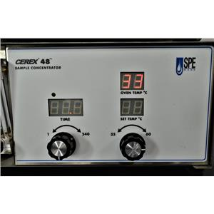 Spe-Ware Cerex 48 Sample Concentrator Positive Pressure Manifold Processor