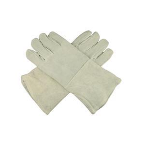 "1 Pair 13"" Leather Welding Gloves-Safety-Furnace-Gold Melting-Smelting"