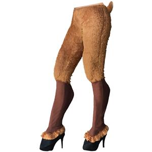 Mythical Creatures Faun Pants Satyr Cosplay Fur Goat Legs Adult Womens Costume