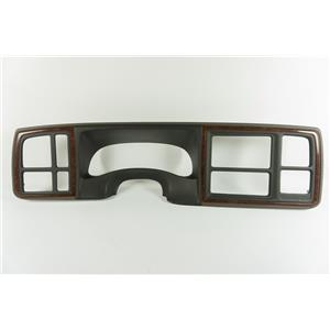 2003-2006 Cadillac Escalade Dash Trim Bezel for Double DIN with Small Cracks