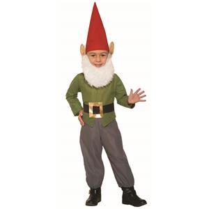 Garden Gnome Child Toddler 2-4T Halloween Costume