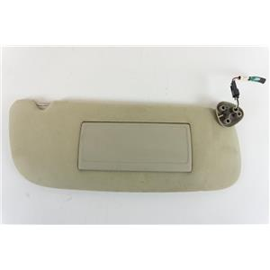 1994-2001 Dodge RAM 1500 2500 3500 Passenger Side Sun Visor with Lighted  Mirror . ekusparts 0325b9aab8c