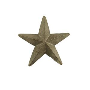 "Cast Iron Star -Weldable Paintable Deco Fence Gate House Barn 4-3/4"""