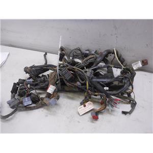 2003 ford f550 xlt 4x4 manual trans dash wiring harness 3c3t-14401-ll oem
