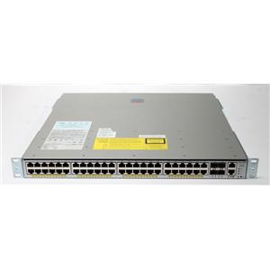 Cisco WS-C4948E-F Catalyst 4948 48-Port 10/100/1000 4 SFP Switch