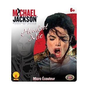Michael Jackson Microphone Headset Mic Costume Accessory Toy Prop