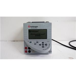 Invitrogen Life Technologies PowerEase 500 Programmable Power Supply
