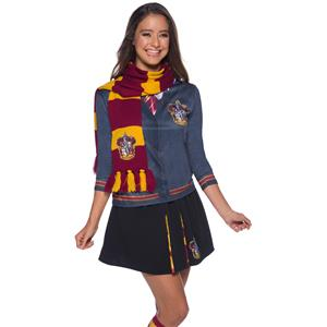 Harry Potter Scarf Gryffindor Maroon Costume Accessory