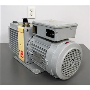 Edwards 18 vacuum pump Pulls to 25 Microns - Parts Unit