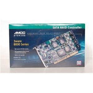 New 3Ware 8506-12 701-0178-01A 12 Port SATA RAID Controller