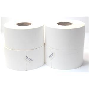 "Lot of 4 Intermec E06175 DuraTran II Polyester Matte 4""x6"" 3"" Core Thermal Label"