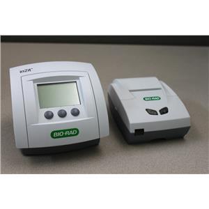 Bio-Rad in2it 501122R. 1 S/N IA-004102 Analyzer & Bio-Rad S/N PA-005274 Printer