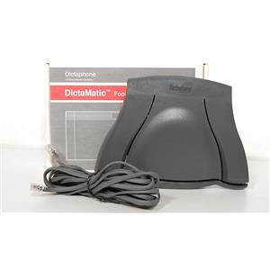 New Dictaphone DictaMatic 177585 Foot Control Pedal
