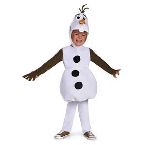 Olaf Snowman Frozen Disney Toddler Costume Size 2T