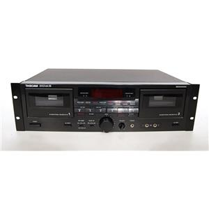 Tascam 202 MKIII Professional Dual Cassette Deck AS IS
