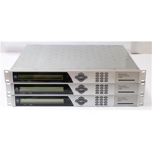 Lot of 3 Cisco Scientific Atlanta D9850 PowerVu Program Reciever / Video Decoder