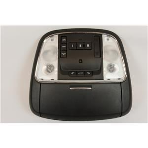 11-15 Jeep Grand Cherokee Overhead Console Sunroof, Liftgate Button, Homelink