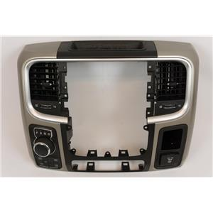 2013-15 Ram 1500 2500 3500 Nav Center Dash Bezel Vents 4WD Auto Power Outlet