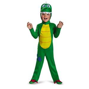 Cute Dinosaur Toddler Green T-Rex Deluxe Costume Small 4-6
