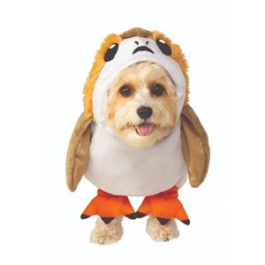 Porg Pet Costume Star Wars Dog Outfit Costume Size Small