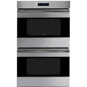 "NIB Wolf 30"" 4.5 cu. ft. Dual Convection Double Electric Wall Oven DO30TESTH"
