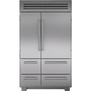 """NIB Sub-Zero 48"""" 18.4 cu. ft Dual Built-in Side-by-Side Refrigerator 648PRO"""